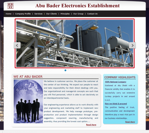 Abu Bader Electronics Establishment – distri list
